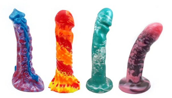 abstract dildos