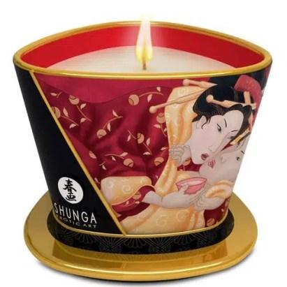massage candle valentine's day gift ideas