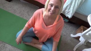 Brianna Beach – Mom & Son Try Tantric Yoga