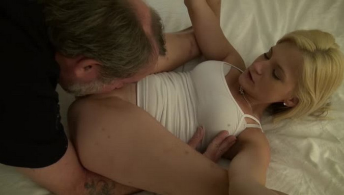 Hot Blonde Hope Harper and Older Dick