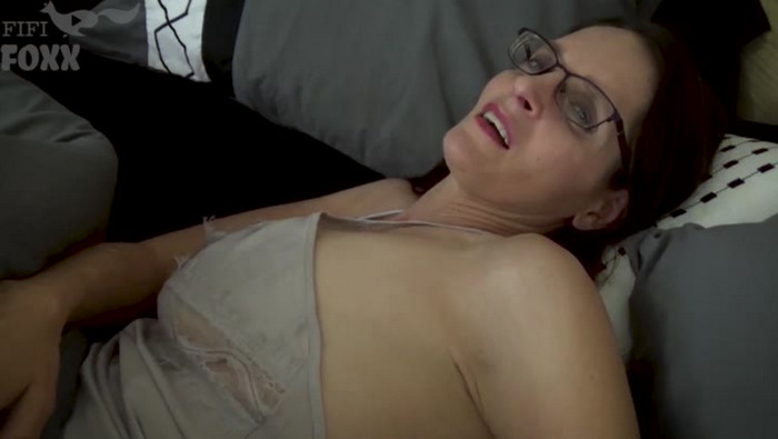 Christina Sapphire – Keeping Mommy Warm: Mom And Son Cuddle