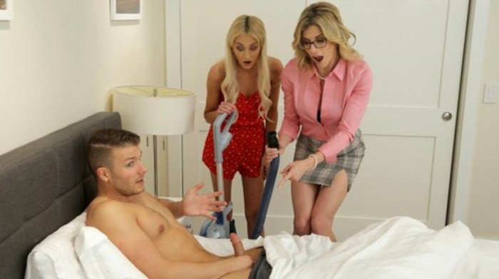 Cory Chase – Mom His Dick Is Stuck In A Vacuum Cleaner