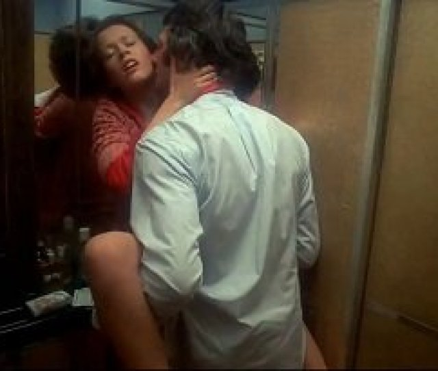 Dutch Model And Actress Sylvia Kristel Sex Scene In Aircraft Toilet