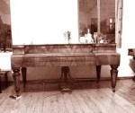 square piano Tabor workshop