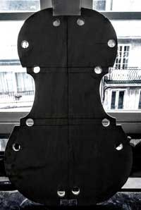 baroque cello mould