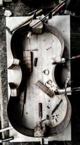 viola bastarda 62cm corpus