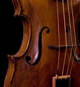 center bouts Gagliano violin