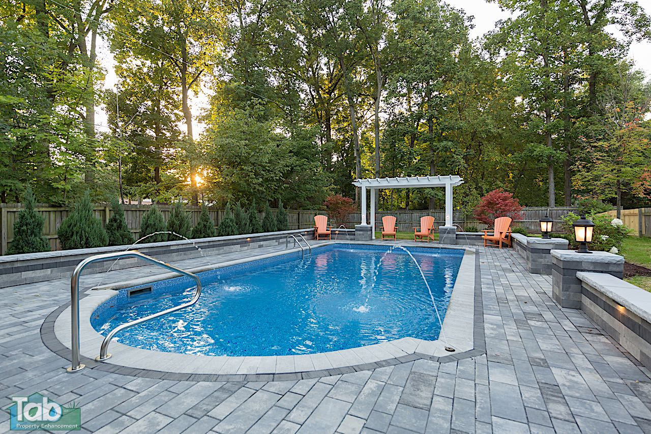 Paver Patios & Outdoor LIving | Home Improvement Ohio ... on Outdoor Pavers Patio id=87690