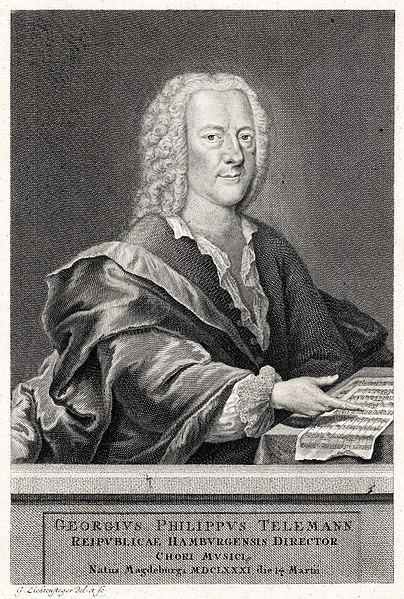 Georg Phillip Telemann – Bouree alla polacca