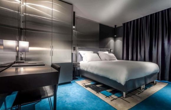 atelierTachas olivier lapidus agencement design menuiserie hotel espace mobilierDesign paris france amenagement paris16 hotelFelicien