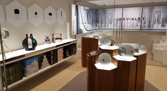 atelierTachas devialet phantom canaryWharf london interiorDesign menuiserie menuisier réalisation surMesure