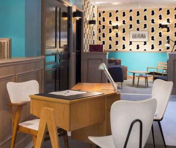 atelierTachas helzearsuiteshotels helzear agencement design menuiserie hotel espace mobilierDesign paris france amenagement