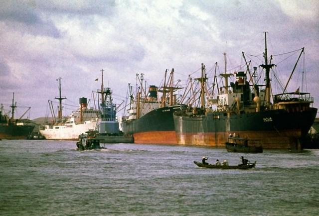 Cảng Sài Gòn.
