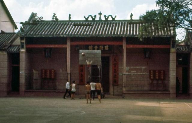 Hội quán Quỳnh Phủ (chùa Bà Hải Nam) của người Hoa trên đường Đồng Khánh.