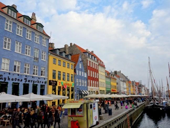tache de rousseur blog voyage copenhague nyhavn