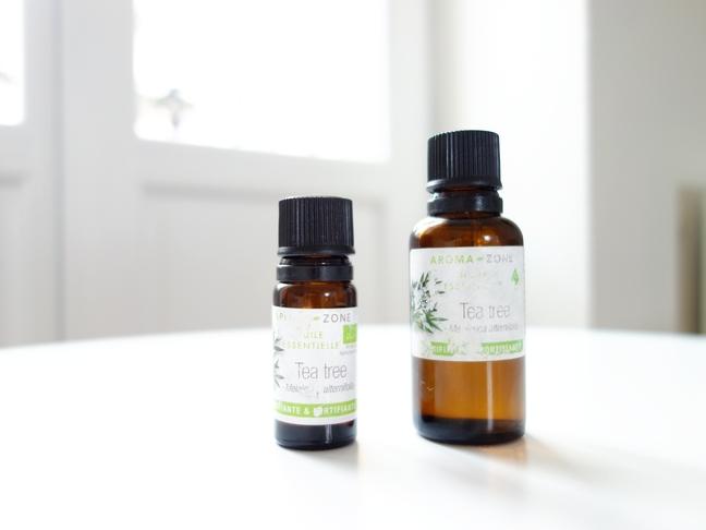 tache de rousseur blog beaute huile essentielle tea tree anti acne