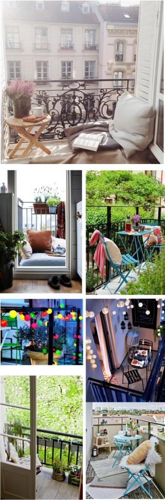 Blog Tache de Rousseur - Idées déco pour un petit balcon