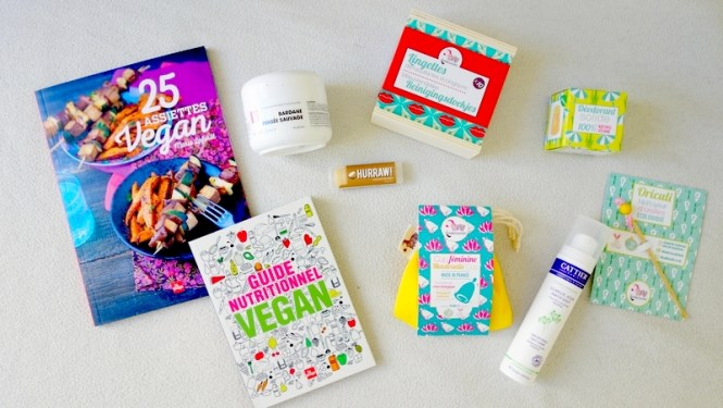 Haul beauté bio et vegan Happy Léon_ Lamazuna - Hurraw - Cattier