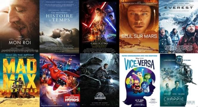 Mes films favoris de 2015