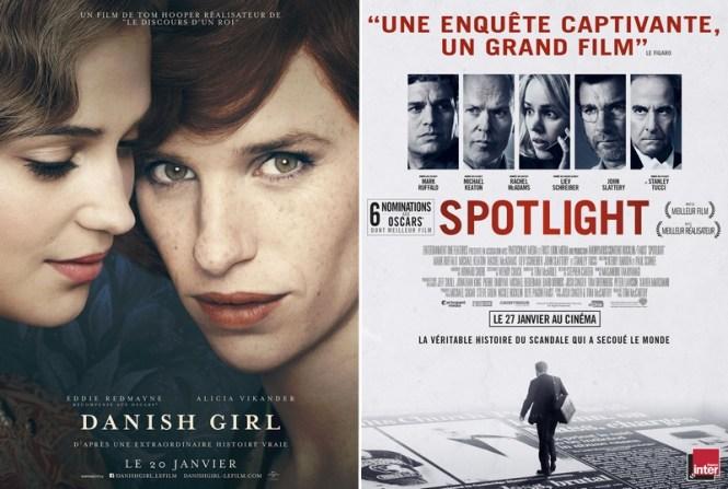 Chronique Cinéma - The Danish Girl et Spotlight