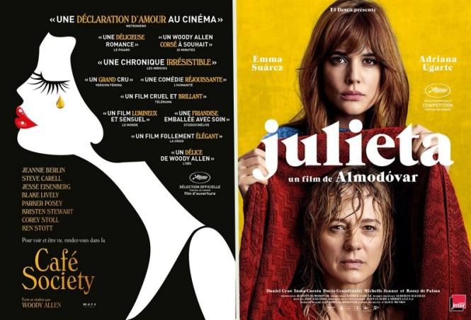 Chronique Cinéma - Café Society Woody Allen + Julieta Pedro Almodovar _ Blog Tache de Rousseur