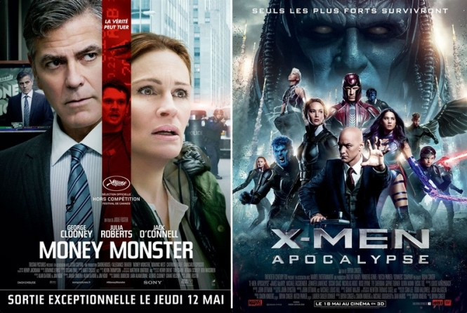 Critique ciné - Money Monster + Xmen Apocalypse - Tache de Rousseu, blog beauté naturelle, lifestyle et voyages