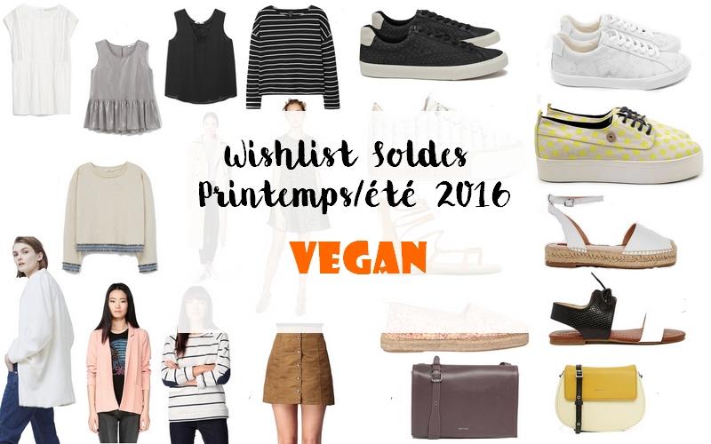 Wishlist Soldes Vêtements et Accessoires [Vegan]