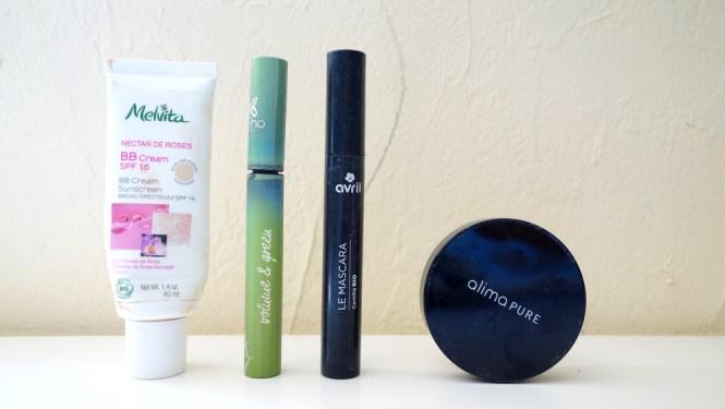 Produits de beauté terminés - Maquillage bio vegan et cruelty free