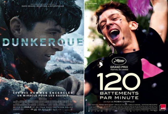 Critique cinema - Dunkerque + 120 battements par minute