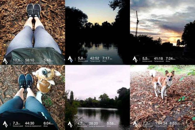 Instagram Application sport running strava