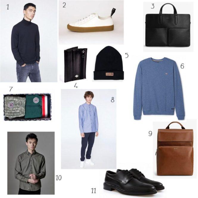 Idées cadeaux de noel ethiques pour hommes - La mode