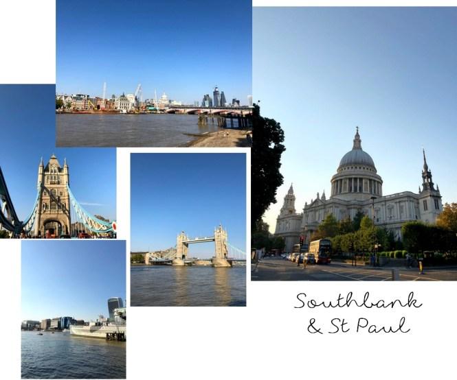 Un long week-end à Londres - Southbank et Cathedrale St Paul