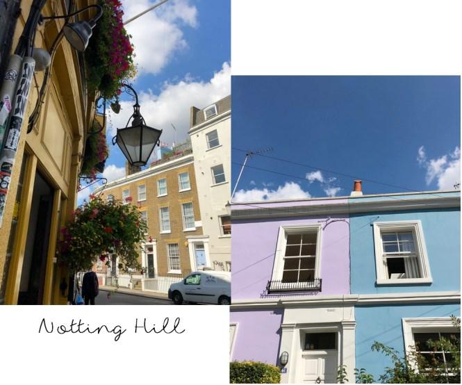 Un long week-end à Londres - Visiter Notting Hill