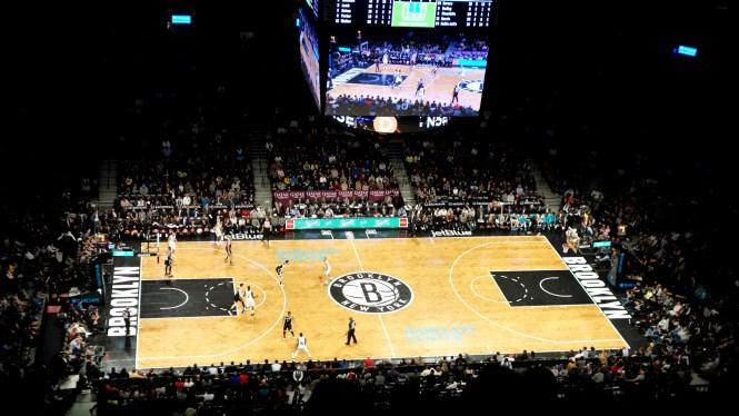 Mon voyage à New York - 1 semaine pour Noel et le Jour de l'an - Brooklyn Nets Match NBA
