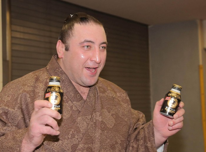 Tochinoshin Raids The Vending Machine