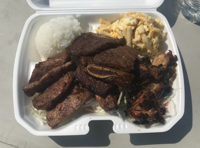 Konishiki's Hawaiian BBQ Plate