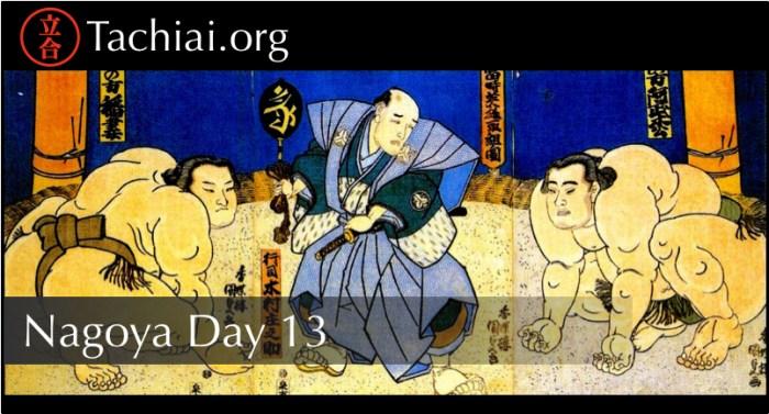 Nagoya Day 13 Banner