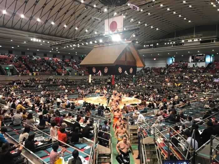 EDION Arena Osaka - Dohyo-iri