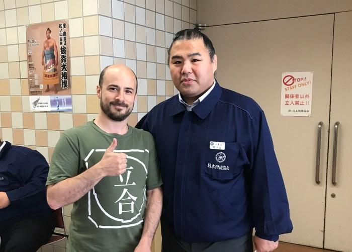 Satoyama / Sanoyama and Josh at Natsu 2019