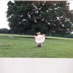 昭和記念公園の「みんなの原っぱ」で遊んできた。