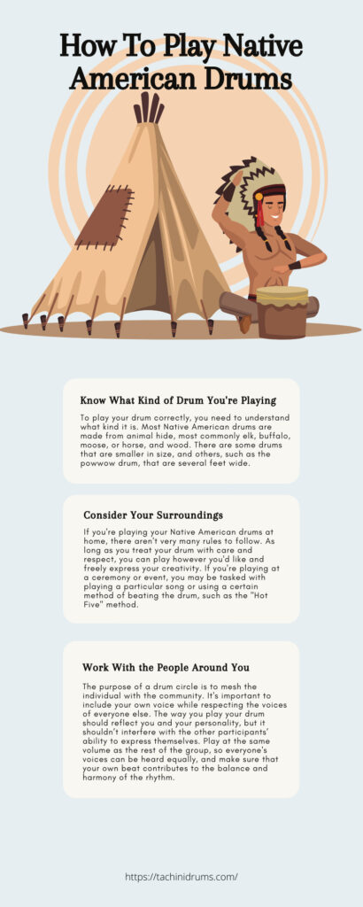 How To Play Native American Drums