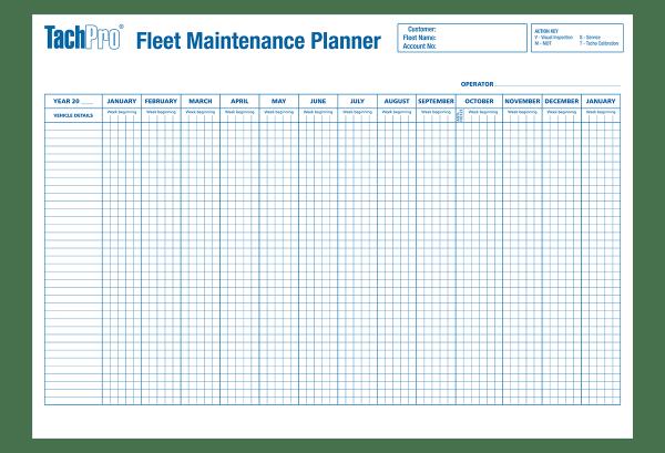 TachPro Wallplanner