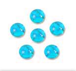 Tachyonized 8mm Aqua Cells 6-Pack