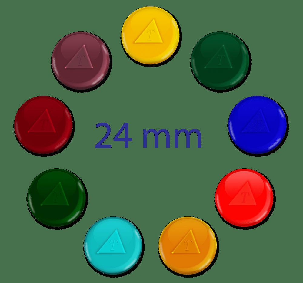 tachyonized 24mm glass cells