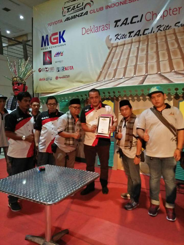 Toyota Avanza Club Indonesia resmikan Chapter Jakarta Raya di Mal MGK Kemayoran