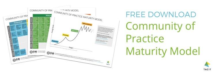 Free download community of practice maturity model