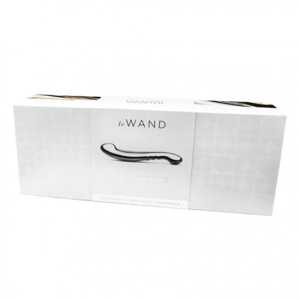 Le Wand Contour Pleasure Tool Silver 11in