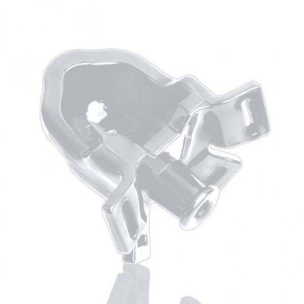 WATERSPORT strap-on gag, white