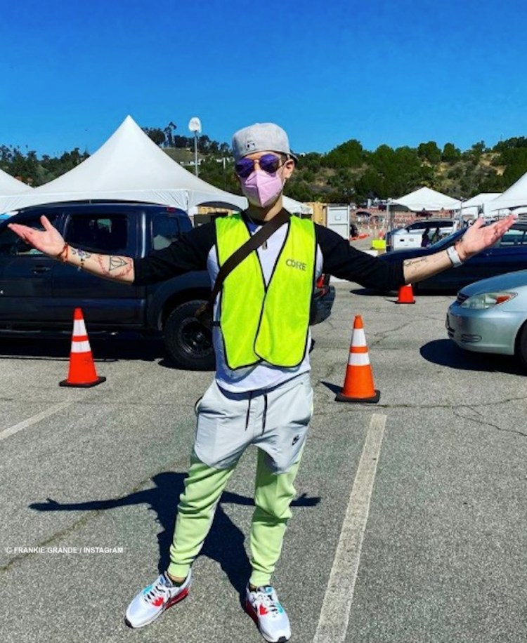 Frankie Grande is now directing traffic