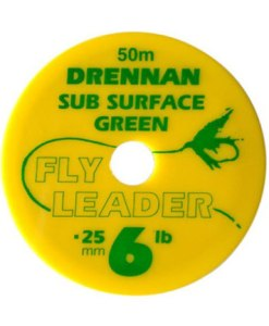 Sub Surface Green Fly Leader